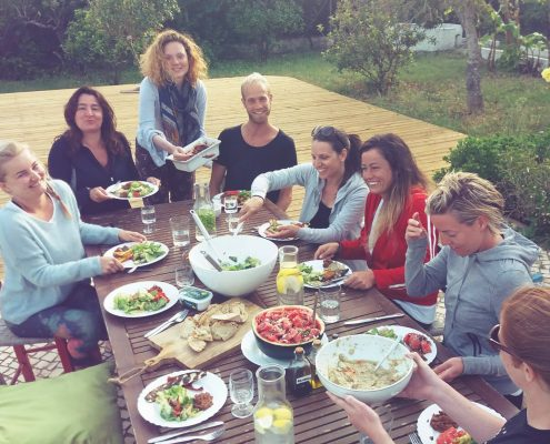 Vegetarian Meals | Wolfs Yoga retreats Algarve, Portugal