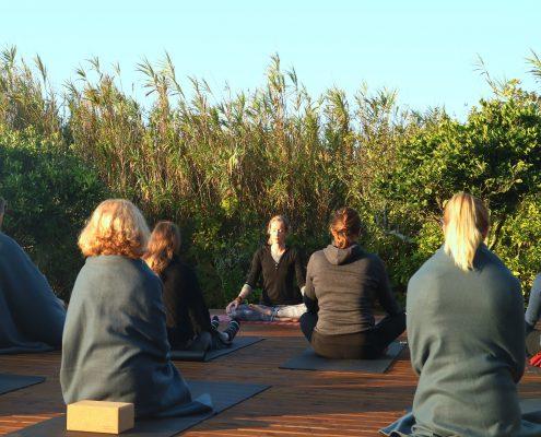 Teaching Yoga Basics | Wolfs Yoga Retreats Algarve, Portugal