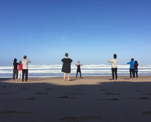 Beach Yoga Portugal | Wolfs Yoga Retreat Portugal