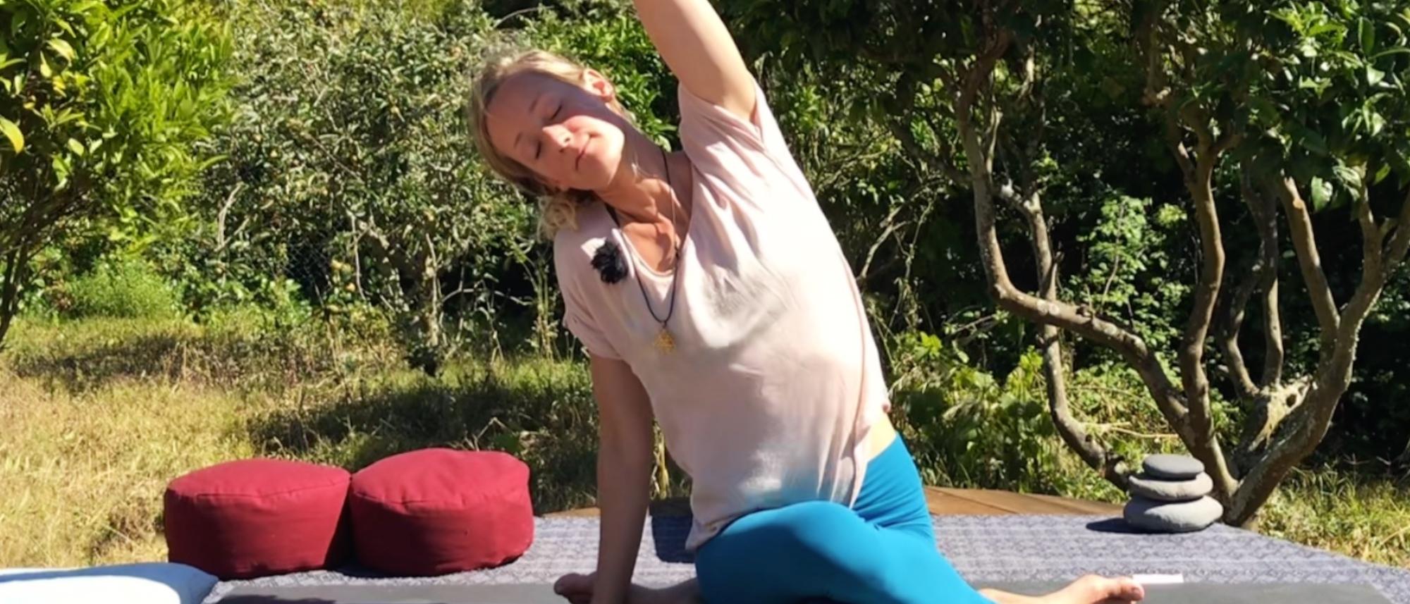 Yin Yoga - Liver and Gallbladder Meridians